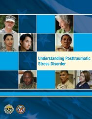 Understanding Posttraumatic Stress Disorder - US Department of ...