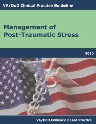 VA/DoD CLINICAL PRACTICE GUIDELIN-PTSD