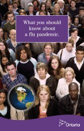 What You Should Know about a Flu Pandemic - Brochure