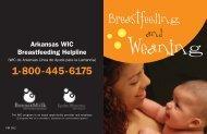 Breastfeeding - Arkansas Department of Health