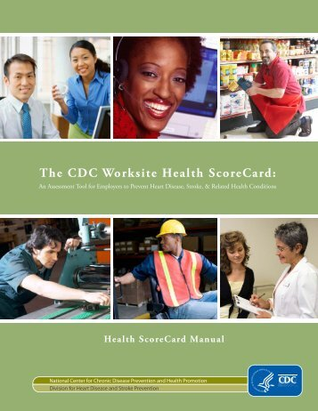 The CDC Worksite Health ScoreCard - Centers for Disease Control ...