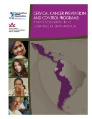 Cervical Cancer Prevention And Control Programs: A ... - PAHO/WHO