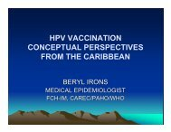 hpv vaccination conceptual perspectives from the caribbean