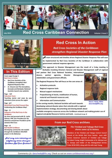 Red Cross Caribbean Connection - The Healthy Caribbean Coalition