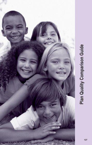 Plan Quality Comparison Guide - California Healthy Families