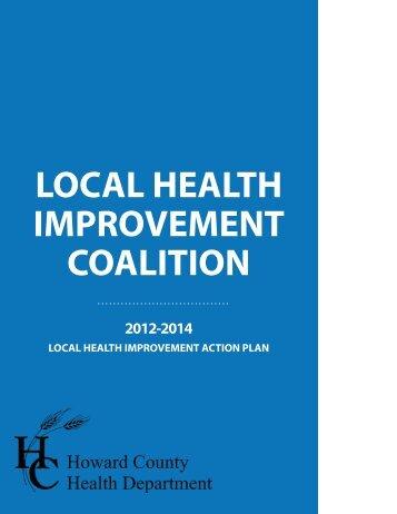 LHIC 2012-2014 Brochure - Howard County Maryland