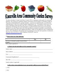 (FPC) is making an online guide for community gardeners. The ...