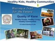 Mark VanKerkhoff, Director, Kane County Development Department ...