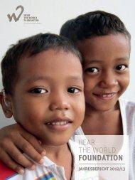 Jahresbericht 2012/13 herunterladen - Hear the World