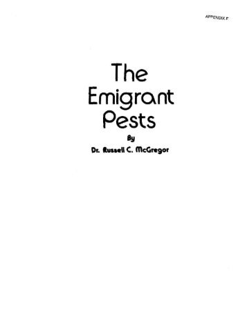 The Emigrant Pests - Hawaiian Ecosystems at Risk project