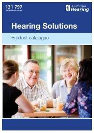 Hearing Solutions - Australian Hearing