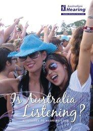 Is Australia Listening? - Australian Hearing