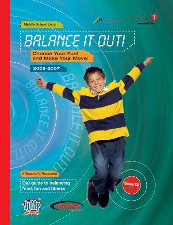 BALANCE IT OUT! - American Heart Association