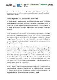 PRESSEMITTEILUNG 17-09-2010 - BUND LV Niedersachsen e.v.