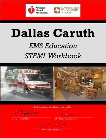 EMS Education STEMI Workbook - American Heart Association