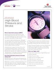 High Blood Pressure and Stroke - American Stroke Association
