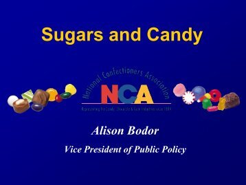 Sugars and Candy - American Heart Association