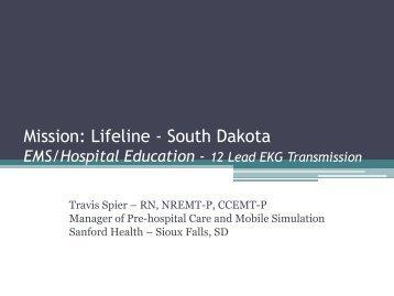 12 Lead EKG Transmission - American Heart Association