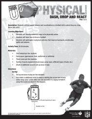 DASH, DROP AND REACT - American Heart Association