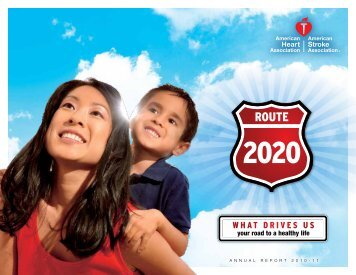 WHAT DRIVES US - American Heart Association