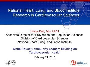 National Heart, Lung, and Blood Institute - American Heart Association