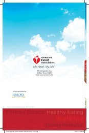 Warm Weather Guide - American Heart Association