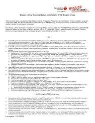Criteria in PDF Format