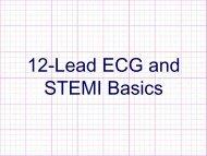 12-Lead ECG and STEMI Basics