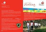 Park Walks 2012 - 2013 - National Heart Foundation