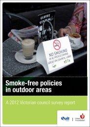 2012 Victorian council survey report - National Heart Foundation