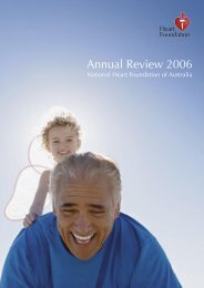 Annual Review 2006 - National Heart Foundation
