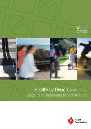 Healthy by Design - National Heart Foundation