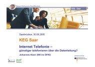 Internet Telefonie - günstiger telefonieren über die Datenleitung ...