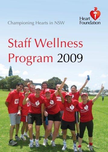 Staff Wellness Program 2009 - National Heart Foundation