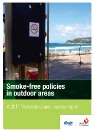 2011 Victorian council survey report - Heart Foundation