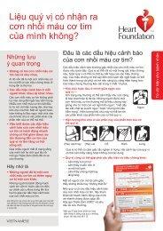 Vietnamese - Heart Foundation - WSFS.indd - National Heart ...