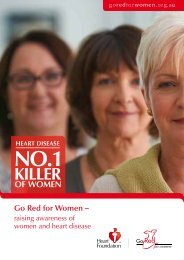 Go Red for Women – - National Heart Foundation