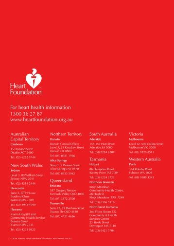 Annual Review - Heart Foundation