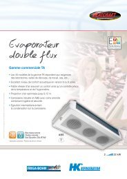 Evaporateur double flux - Europe