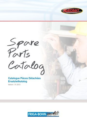 Parts Catalog 01 2013 - Europe