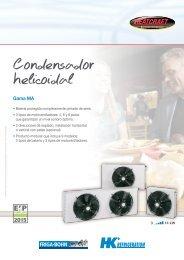 Condensador helicoidal - Europe