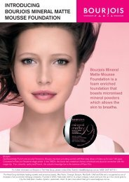 IntroducIng BourjoIs MIneral Matte Mousse FoundatIon - Heat Group