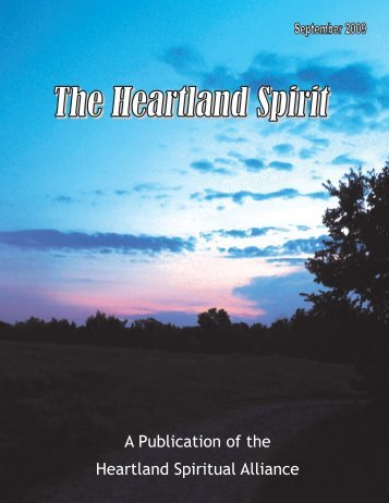 A Publication of the Heartland Spiritual Alliance - Temple of Our ...