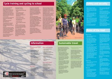 Cycling map - Slough Borough Council