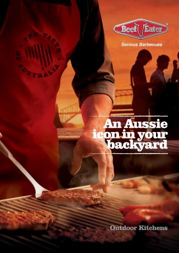 Outdoor Kitchens - BeefEater Barbecues