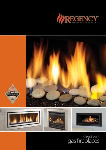 Gas Fires Brochure - Regency Fireplace Products