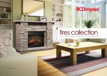 Dimplex Electric Fires Collection - Pivot Stove & Heating