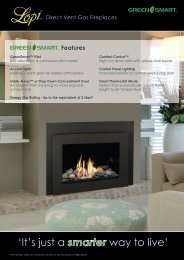 Click here to download the GreenSmart Brochure - Lopi