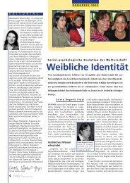 Weibliche Identität Weibliche Identität