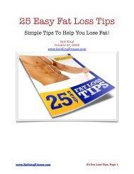 Loss pdf fat rapid handbook